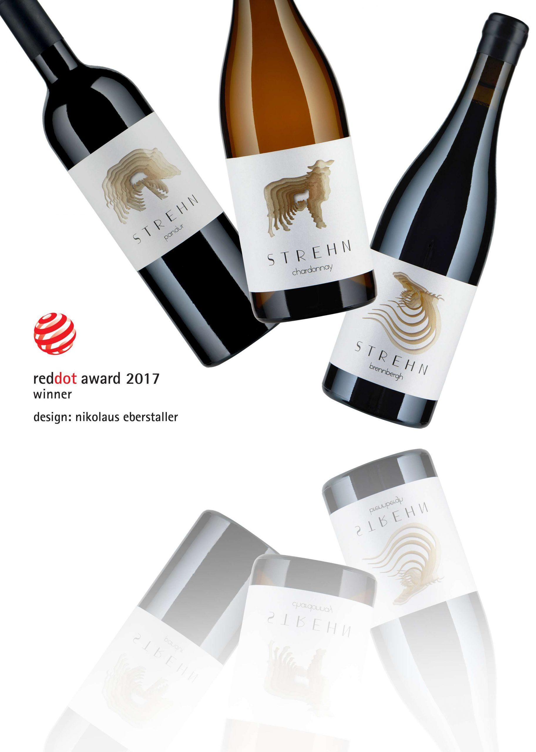 Red dot Design Award _ Eberstaller Weingut Strehn